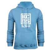 Light Blue Fleece Hood-Kansas City Barbeque Society