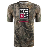 Realtree Camo T Shirt-Kansas City Barbeque Society