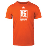 Adidas Orange Logo T Shirt-Kansas City Barbeque Society