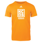Adidas Gold Logo T Shirt-Kansas City Barbeque Society
