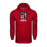 Under Armour Cardinal Performance Sweats Team Hoodie-Kansas City Barbeque Society
