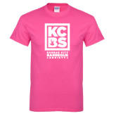 Hot Pink T Shirt-Kansas City Barbeque Society