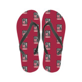 Ladies Full Color Flip Flops-Kansas City Barbeque Society