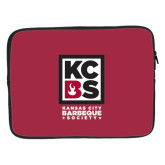 15 inch Neoprene Laptop Sleeve-Kansas City Barbeque Society