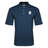 Nike Golf Dri Fit Navy Micro Pique Polo-Kansas City Barbeque Society