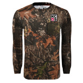 Realtree Camo Long Sleeve T Shirt w/Pocket-KCBS