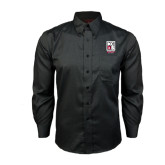 Red House Black Long Sleeve Shirt-Kansas City Barbeque Society
