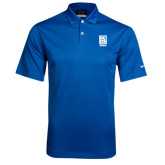 Nike Dri Fit Royal Pebble Texture Sport Shirt-Kansas City Barbeque Society