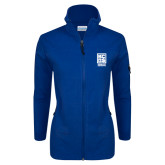 Columbia Ladies Full Zip Royal Fleece Jacket-Kansas City Barbeque Society