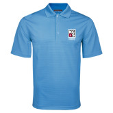 Light Blue Mini Stripe Polo-KCBS Certified Barbecue Judge