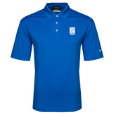 Nike Golf Dri Fit Royal Micro Pique Polo-Kansas City Barbeque Society