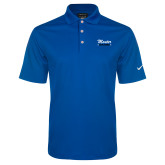 Nike Golf Dri Fit Royal Micro Pique Polo-KCBS Master BBQ Judge