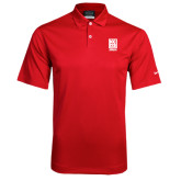 Nike Dri Fit Red Pebble Texture Sport Shirt-Kansas City Barbeque Society
