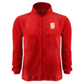 Fleece Full Zip Red Jacket-Kansas City Barbeque Society