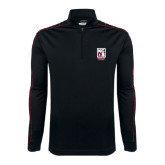 Nike Golf Dri Fit 1/2 Zip Black/Red Cover Up-Kansas City Barbeque Society