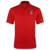 Columbia Red Omni Wick Drive Polo-Kansas City Barbeque Society