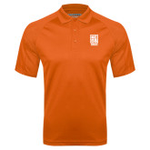 Orange Textured Saddle Shoulder Polo-Kansas City Barbeque Society