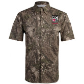 Camo Short Sleeve Performance Fishing Shirt-Kansas City Barbeque Society