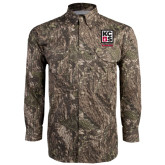 Camo Long Sleeve Performance Fishing Shirt-Kansas City Barbeque Society