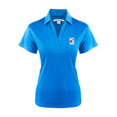 Ladies Light Blue Performance Fine Jacquard Polo-KCBS Certified Barbecue Judge