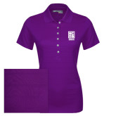 Ladies Callaway Opti Vent Purple Polo-Kansas City Barbeque Society