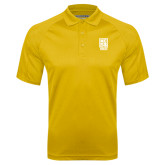 Gold Textured Saddle Shoulder Polo-Kansas City Barbeque Society