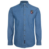 Denim Shirt Long Sleeve-Kansas City Barbeque Society