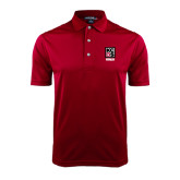 Cardinal Dry Mesh Polo-Kansas City Barbeque Society