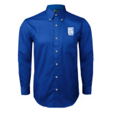 Royal Twill Button Down Long Sleeve-Kansas City Barbeque Society