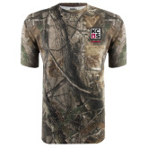 Realtree Camo T Shirt w/Pocket-Kansas City Barbeque Society