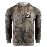 Realtree Camo Fleece Hood-KCBS