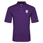 Nike Golf Dri Fit Purple Micro Pique Polo-Kansas City Barbeque Society