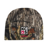 Mossy Oak Camo Fleece Beanie-Kansas City Barbeque Society