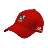 Adidas Red Structured Adjustable Hat-Kansas City Barbeque Society