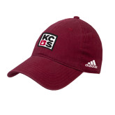 Adidas Cardinal Slouch Unstructured Low Profile Hat-KCBS