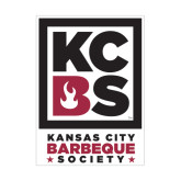 Medium Magnet-Kansas City Barbeque Society, 8in tall