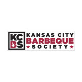 Medium Magnet-Kansas City Barbeque Society Flat, 8in wide