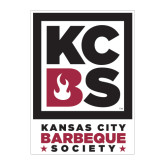 Large Magnet-Kansas City Barbeque Society, 12in tall