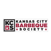 Large Magnet-Kansas City Barbeque Society Flat, 12in wide