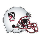 Football Helmet Magnet-Kansas City Barbeque Society