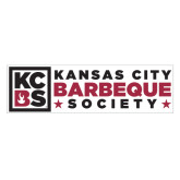 Extra Large Magnet-Kansas City Barbeque Society Flat, 18in wide