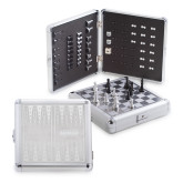 Stainless Steel Travel Game Set-Kansas City Barbeque Society Wordmark Engraved