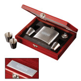 Stainless Steel Flask Set-Kansas City Barbeque Society Wordmark Engraved