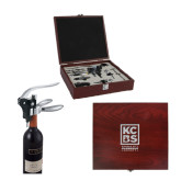 Executive Wine Collectors Set-Kansas City Barbeque Society Engraved