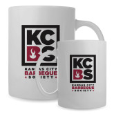 Full Color White Mug 15oz-Kansas City Barbeque Society