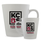 Full Color Latte Mug 12oz-Kansas City Barbeque Society