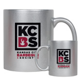Full Color Silver Metallic Mug 11oz-Kansas City Barbeque Society