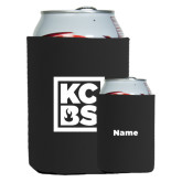 Neoprene Black Can Holder-KCBS