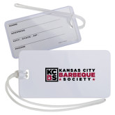 Luggage Tag-Kansas City Barbeque Society Flat