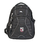 High Sierra Swerve Black Compu Backpack-Kansas City Barbeque Society